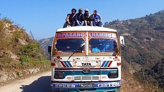 An Epic Himalayan Bus Journey, Nepal