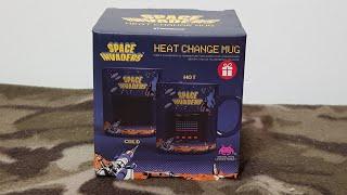 Space Invaders Heat Change Mug