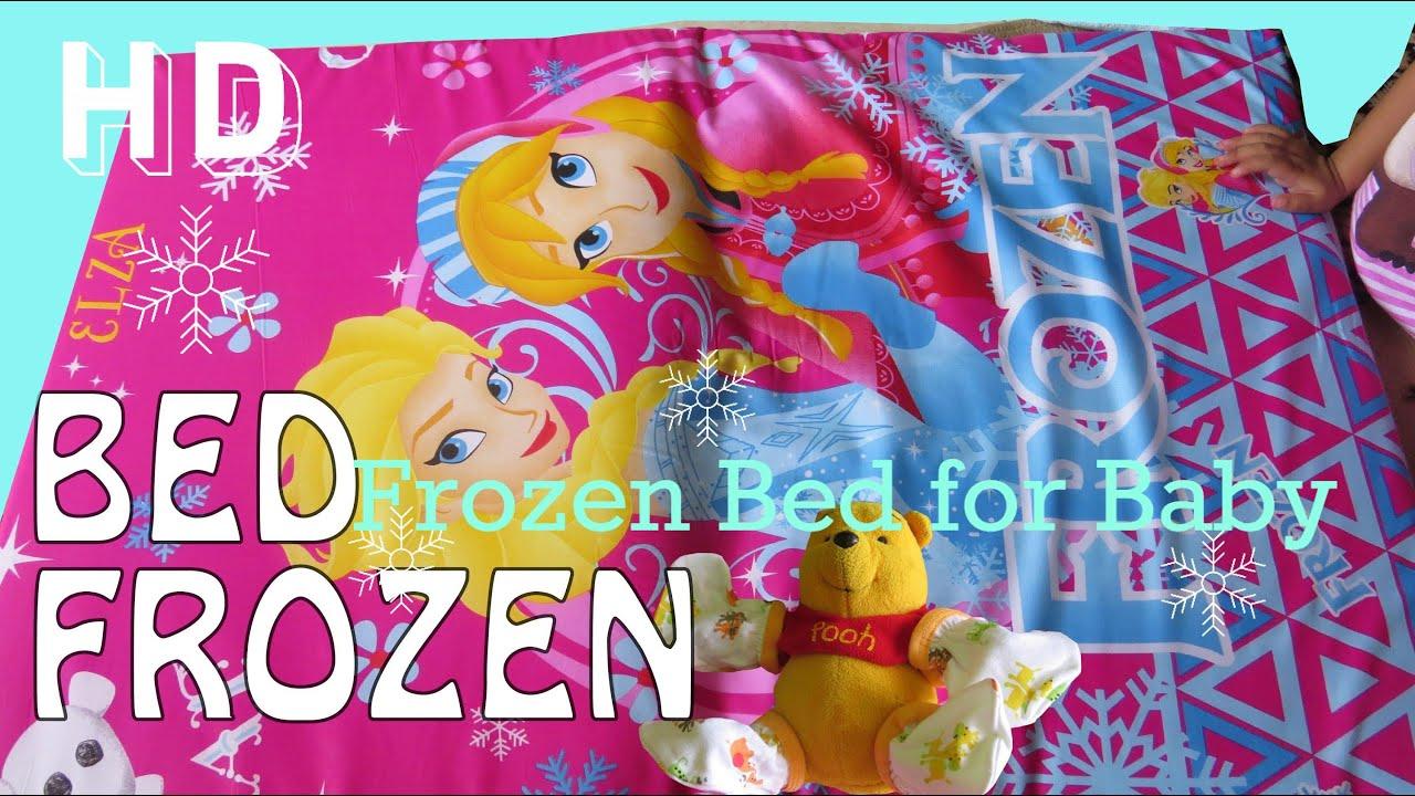 tempat tidur lifia niala bayi frozen elsa teddy bear doll