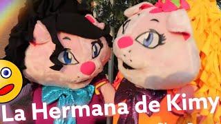La HERMANA MALVADA de kimy la GATITA / Kids Play