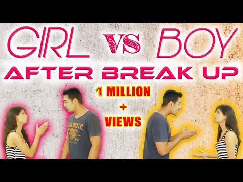 GIRL VS BOY AFTER BREAK UP | THE BOMBAY TRIO| with English subtitles