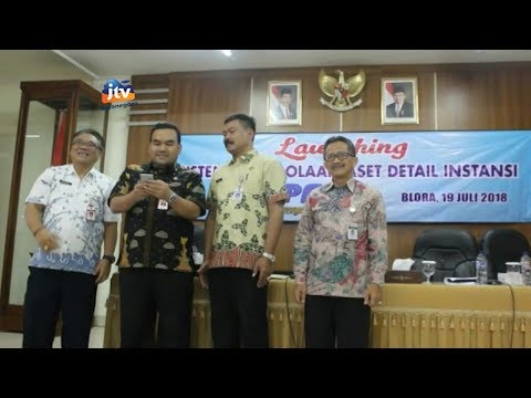 Video Pemkab Blora Launching Aplikasi Sipadi