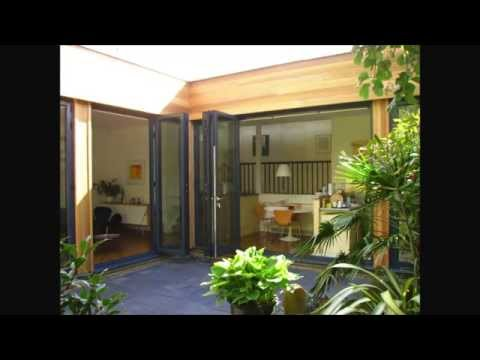 Goldseal Bifolding Doors with remote blinds