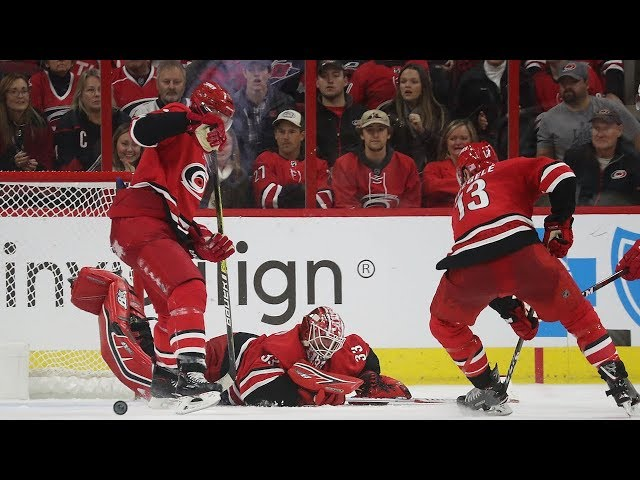 Scott Darling makes pair of outrageous overtime saves