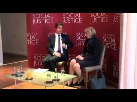 Home Secretary Theresa May interviewed by Fraser Nelson