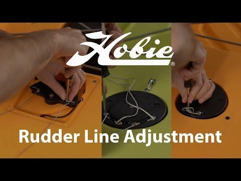 Rudder Line Adjustment For Hobie Kayaks