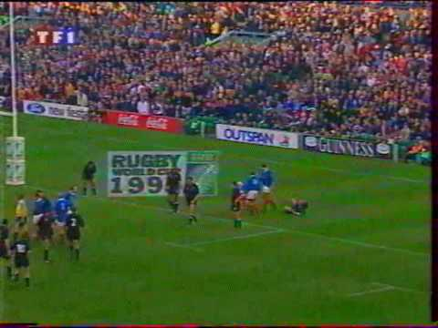 France vs nouvelle z lande demi finale de la coupe du monde 1999 de rugby part 3 youtube - Rugby coupe du monde 1999 ...