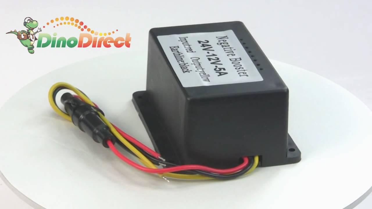 12v To 24v Dc Converter Circuit 24v To 12v Converter Circuit