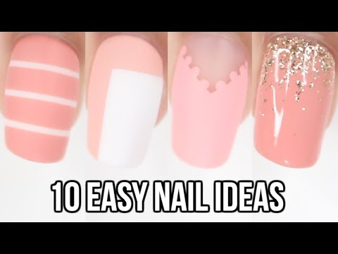 PEACH🍑 10 Easy Nail Ideas!