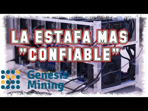 Genesis Mining 2020 | AL FINAL TODAS SON SCAM