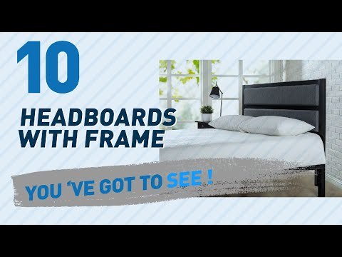 Headboards With Frame // New & Popular 2017