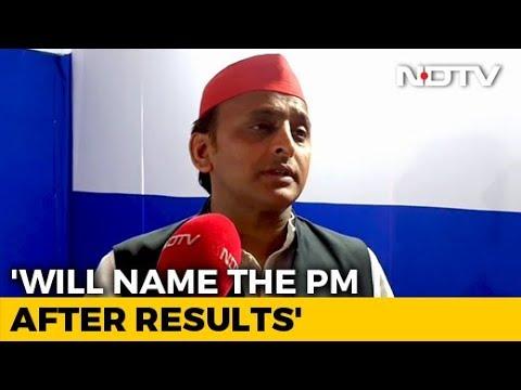 'Gathbandhan' Leaders Know My Choice Of PM: Akhilesh Yadav To NDTV