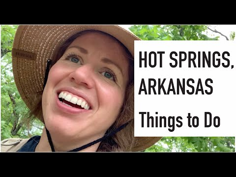 Hot Springs, Arkansas - Things To Do: Hiking, Downtown, Crystal Mining, Star Wars Nerds And Ticks!!!