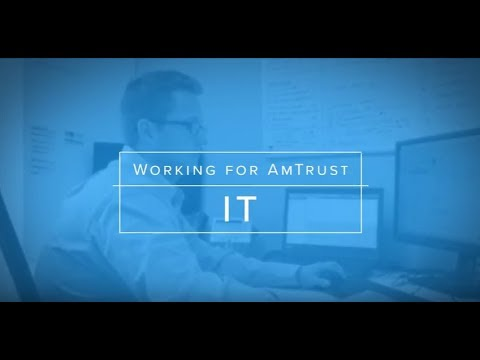 Working in IT at AmTrust Financial