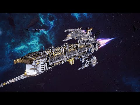 Skalgrim Mod 2021: Imperial Navy vs Chaos - Massive Battle, Battlefleet Gothic Armada 2 |