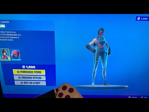 *NEW* Bachii Skin Style Out Now! Fortnite Item Shop Update!