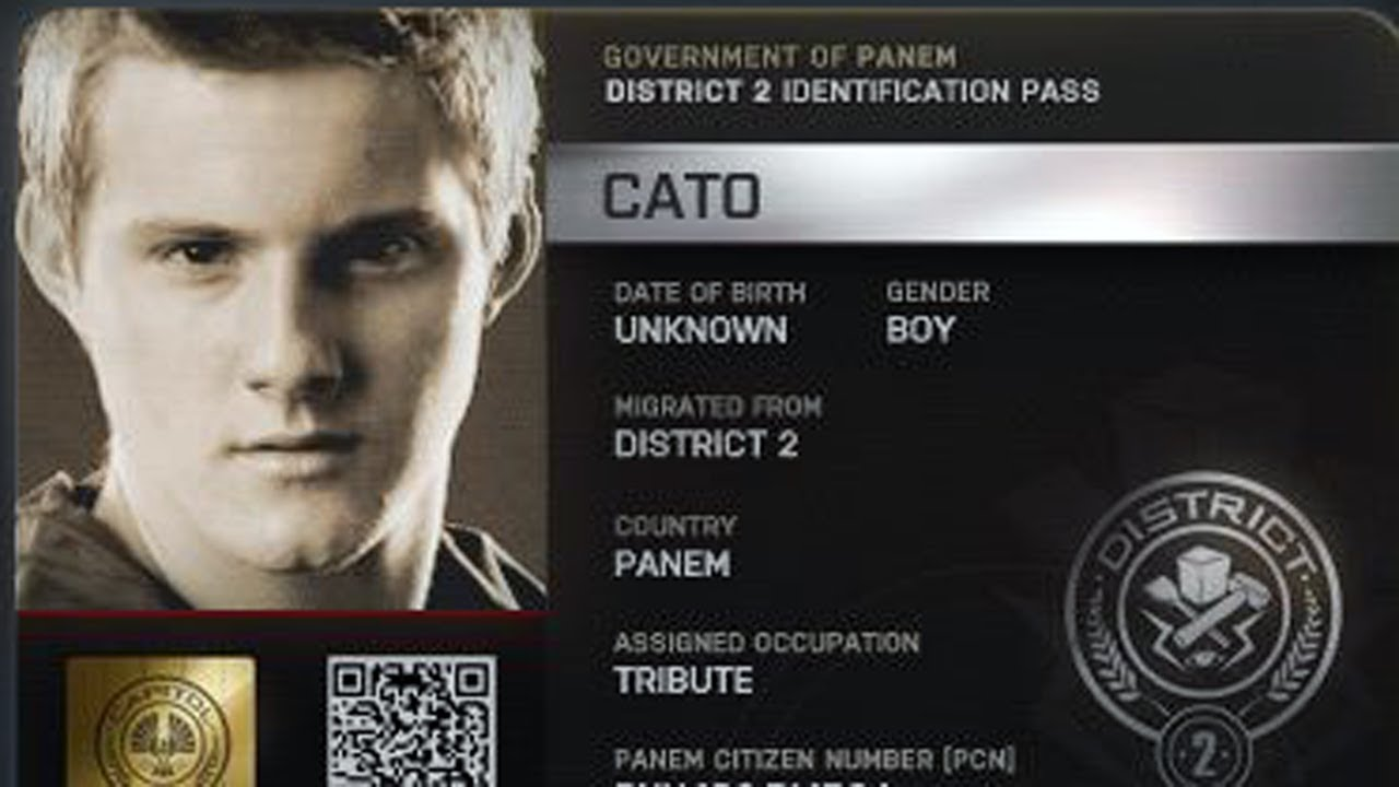 THE HUNGER GAMES's Alexander Ludwig: Team Cato! - YouTube