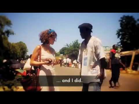Tereza from Czech sings popmusic in Africa to support non-profit in Malawi