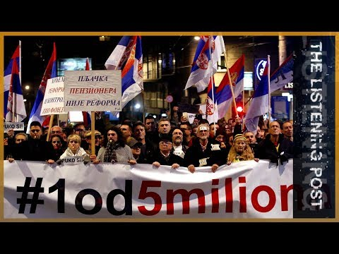 'One in five million': Protesting Serbia's muzzled media   The Listening Post (Feature)