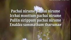 """Pachchai Nirame (Sakiye)"" song Alaipayuthey (2002)"