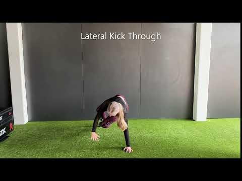 Lateral Kick through