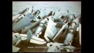 Flight Deck Crews: Landing & Re-Spotting World War 2 Aircraft Carrier Planes