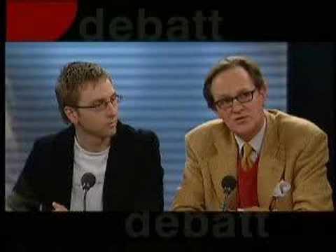 Jan Öberg @ SVT's Debatt