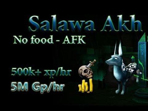 Runescape: Soul devourers - AFK power training.