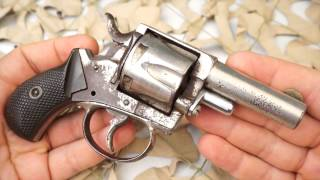 Forehand And Wadsworth British Bulldog 38 Pocket Concealed Carry Revolver Review - New World Ordnanc