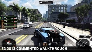 The Crew - E3 2013 - Commented Walkthrough [UK]
