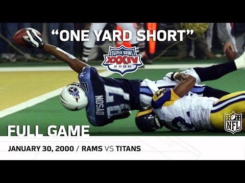 "Super Bowl XXXIV: ""One Yard Short"" 