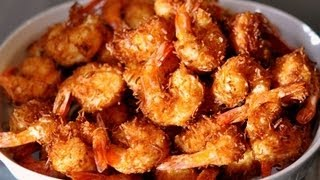 Coconut Shrimp With Sweet Red Chili Sauce