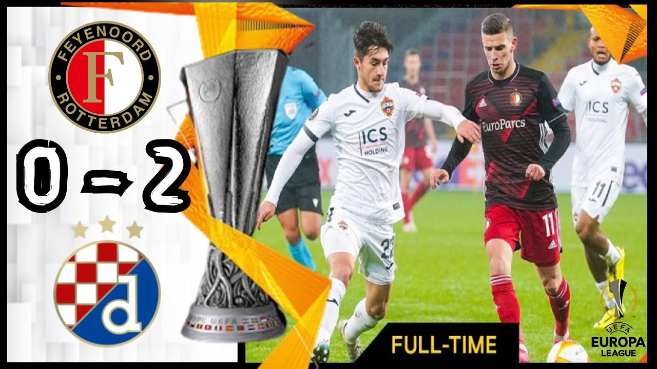 Feyenoord 0 2 Dinamo Zagreb All Goals Extended Highlights Youtube