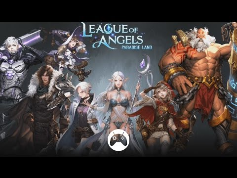 League of angels:origins android / ios gameplay (open world mmorpg.
