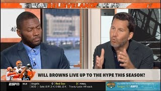 Max & Ryan OVERWELMED Which team will win AFC North? | FIRST TAKE 8/9/2019