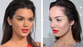 Kendall Jenner's NEW Estee Lauder Lipstick Tutorial!