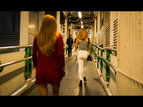 Silom Skywalk & Bangkok MRT 2017