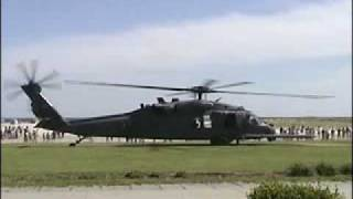 HH-60G Pave Hawk Engine Start and Take Off at New York Airshow 2004