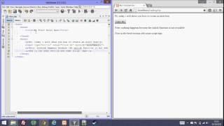 Create an alert box using Javascript and HTML