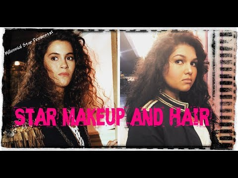 Jami Gertz as Star The Lost Boys Inspired Hair and Makeup Tutorial