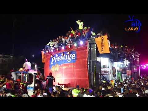 Pré-carnaval 2018: Prestation de Dj Bullet au Champ de Mars (14 janvier)