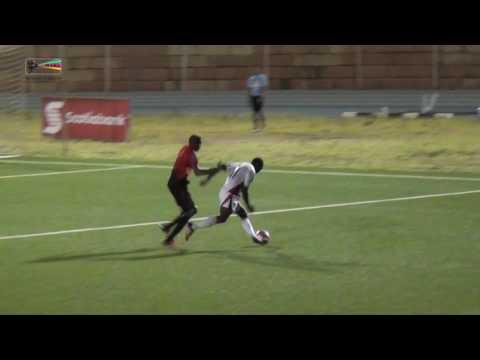 St. Kitts & Nevis vs Barbuda U-20 Highlights CFU Qualification Match Caribbean Cup  date 23 10 2016