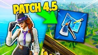 ALL you DON'T KNOW about PATCH 4.5 on FORTNITE !