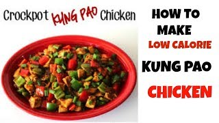 CROCKPOT SLOW COOKER KUNG PAO CHICKEN