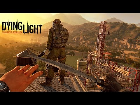 Dying light - ON KILL DU GROS ZOMBIE !!