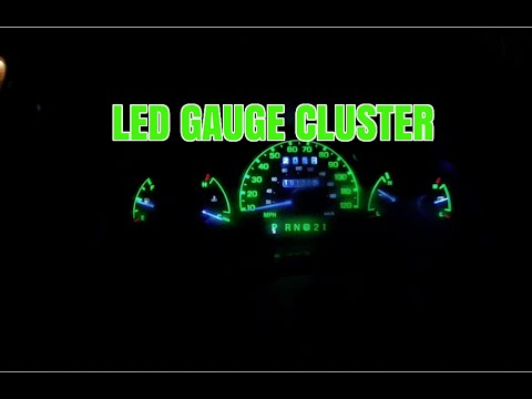 How To Install LEDs In A Gauge Cluster Ford Ranger - How To Adjust Shift Indicator Ford