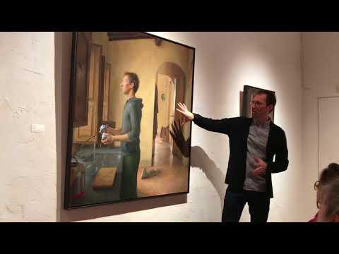 Kenny Harris Artist Talk at Koplin Del Rio   April 7, 2018