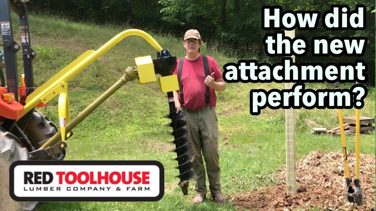 The New Titan 3 point hitch post hole digger: A Review