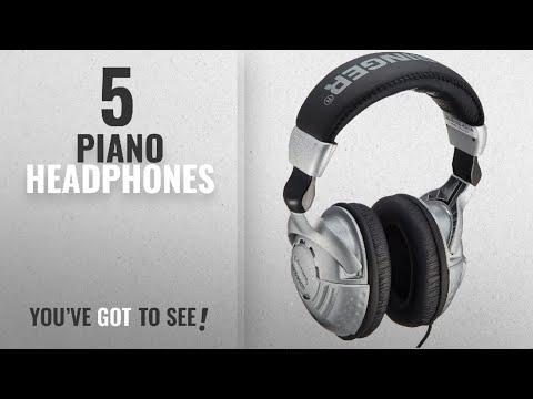 Top 10 Piano Headphones [2018]: Behringer HPS3000 Studio Headphones