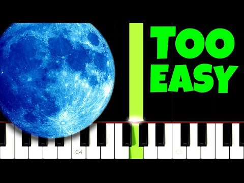 Clair de Lune - Debussy [TOO EASY] (ONLY RIGHT HAND)